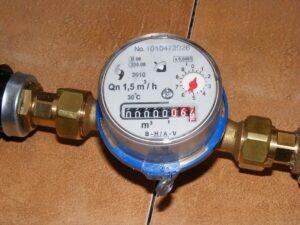 contador de agua funcionamiento